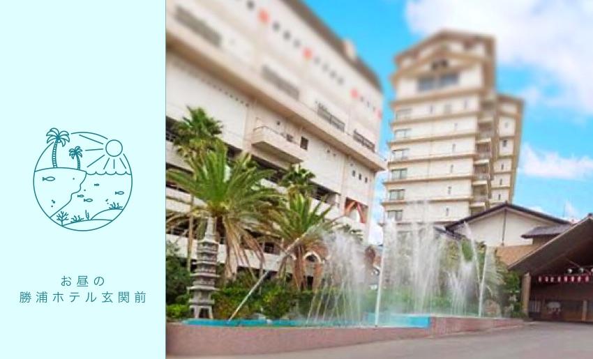 イルミネーションを千葉県勝浦市のホテルへ販売施工