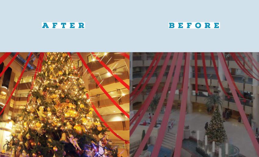 クリスマスツリー用のイルミネーションledならストリングライトシャンパンゴールド