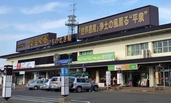 岩手県一関駅前
